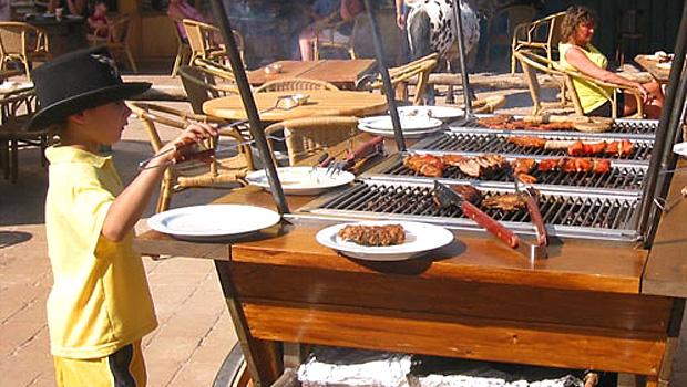 Barbecue voor binnen